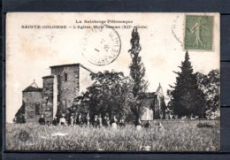 17 - Sainte Colombe - L'Eglise Style Roman ( XII Siècle ) - France