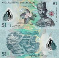 Brunei 2011 - 1 Ringgit - Polymer - Pick 35 UNC - Brunei