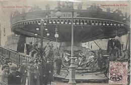 59, Nord, CAMBRAI, Les Gondoles Russes à Vapeur - Instantané De Foire, Scan Recto-Verso - Cambrai