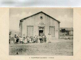 ALGERIE(HANOTEAU) ECOLE - Autres Villes