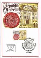 32667. Tarjeta Maxima St. VEIT An Der GLAN (Austria) 1981. 850 Jahre Stadt - Cartas Máxima