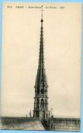 CPA 75 PARIS Cathédrale Notre Dame - LA  FLECHE - Notre Dame De Paris