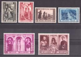Belgique - 1939 - N° 513 à 518 - Neufs ** - 3ème Série D'Orval - Belgium