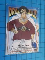 CARTE A JOUER OU A COLLECTIONNER : 1995 DRAGON BALL Z MEMORIAL PHOTO 26 EN JAPONAIS MAJIN BOO ET MR SATAN L'habite - Dragonball Z
