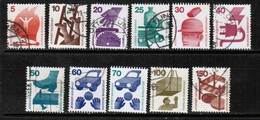 GERMANY  Scott # 1074-85 VF USED (Stamp Scan # 501) - [7] Federal Republic