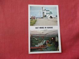 Salt Mine In Central Kansas     Ref 3341 - Mines
