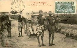 CONGO - Carte Postale - Le Tipoge à Quatre Chez Les Loangos - L 29383 - Congo Français - Autres