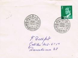 32671. Carta BARCELONA 1979.Salon Nautico Y Del Deporte - 1931-Hoy: 2ª República - ... Juan Carlos I