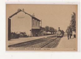 ( 77 ) LA GRANDE PAROISSE La Gare - Altri Comuni