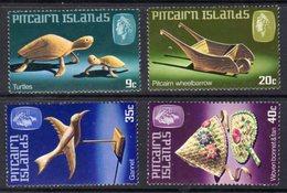 PITCAIRN ISLANDS - 1980 HANDICRAFTS 2ND SERIES SET (4V) FINE MNH ** SG 207-210 - Stamps