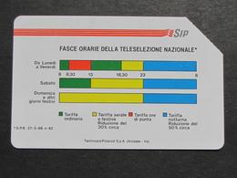 ITALIA 1139 C&C 40  GOLDEN - FASCE ORARIE 31.12.91 FR TECHNICARD/POLAROID 10000 - USATA USED LEGGI - Italia
