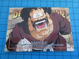 CARTE A JOUER OU A COLLECTIONNER : 1995 DRAGON BALL Z MEMORIAL PHOTO 43 EN JAPONAIS : Mr SATAN Au Pire - Dragonball Z