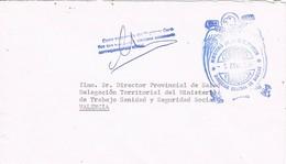 32672. Carta MAJADAHONDA (Madrid) 1981. Franquicia Ministerio Gobernacion SANIDAD - 1931-Hoy: 2ª República - ... Juan Carlos I