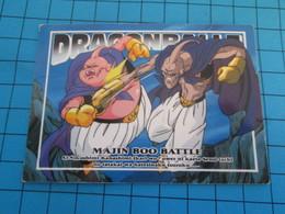 CARTE A JOUER OU A COLLECTIONNER : 1995 DRAGON BALL Z MEMORIAL PHOTO 84 EN JAPONAIS : MAJIN BOO BATTLE - Dragonball Z
