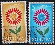 SPANIEN SPAIN [1964] MiNr 1501-02 ( O/used ) CEPT - 1931-Heute: 2. Rep. - ... Juan Carlos I