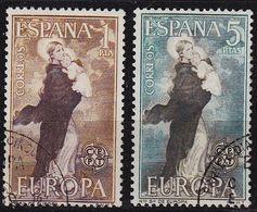 SPANIEN SPAIN [1963] MiNr 1411-12 ( O/used ) CEPT - 1961-70 Gebraucht