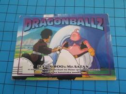CARTE A JOUER OU A COLLECTIONNER : 1995 DRAGON BALL Z MEMORIAL PHOTO MAJIN BOO ET MR SATAN - Dragonball Z