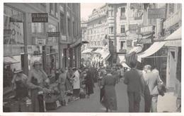 CPA  Suisse, LAUSANNE,  Rue De Bourg, Carte Photo - VD Vaud