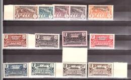 AEF - 1936 - Série N° 1 à 16 (manque N°  3, 5 Et 7) - Neufs ** - Neufs