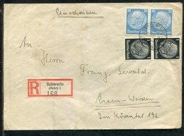Deutsches Reich / 1941 / Reco-Brief Ex Schwerte (13247) - Briefe U. Dokumente