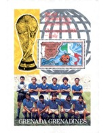 Ref. 31912 * MNH * - GRENADA GRENADINES. 1982. FOOTBALL WORLD CUP. SPAIN-82. Winner . COPA DEL MUNDO DE FUTBOL. ESPAÑA- - 1982 – Espagne