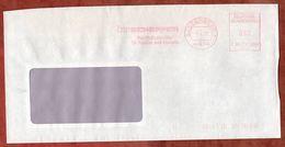 Brief, Francotyp-Postalia F90-0992, Scheffer, 80 Pfg, Sassenberg 1988 (73522) - [7] République Fédérale