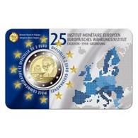 Belgie 2019  2 Euro Commemo 25 Jaar EMI    Version Français   In Coincart   Extreme Rare !!! - Belgien
