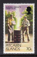 PITCAIRN ISLANDS - 1981 70c ADDITIONAL DEFINITIVE VALUE FINE MNH ** SG 182b - Stamps