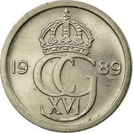 Monnaie, Suède, Carl XVI Gustaf, 10 Öre, 1989, TTB, Copper-nickel, KM:850 - Sweden
