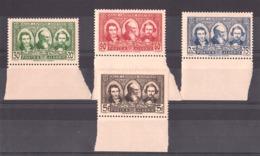 Algérie - 1939 - N° 149 à 152 - Neufs ** - Bords De Feuille - Pionniers Du Sahara - Algeria (1924-1962)