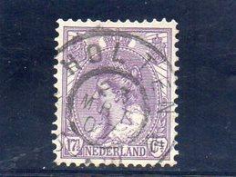 PAYS BAS 1898-1923 O - Oblitérés
