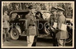 Postcard / ROYALTY / Belgique / Roi Leopold III / Koning Leopold III / Generaals (?) / Unused - Characters