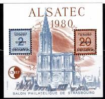FRANCE - BLOC CNEP - N° 1 ** (1980) Alsatec - CNEP