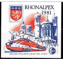 FRANCE - BLOC CNEP - N° 2 ** (1981) RHONALPEX - CNEP