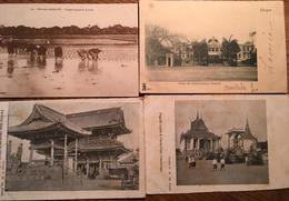 Lot De 10 Cartes Postales, VIET-NAM SAÏGON HANOÏ INDOCHINE CAMBODGE JAPON - Postcards