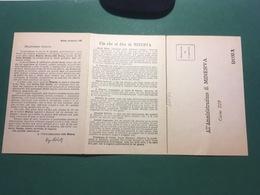 Cartolina Roma - All'Amministrazione Di Minerva - Corso 219 - 1899 Ca. - Cartoline