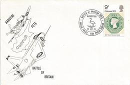 Cyprus 1970 BFPS 1139 Akrotiri Battle Of Britain RAF Parachute Drop Military Forces Flamingo Cover - Cyprus (Republiek)