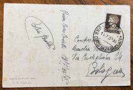 FASCISMO ROMA  O.N.B.  CAMPO CORSO NAZIONALE GRADUATI  14/7/33 - XI  CARTOLINA PER  BOLOGNA - Storia