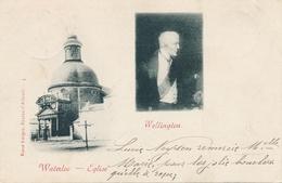 CPA - Belgique - Waterloo - Eglise - Wellington - Waterloo