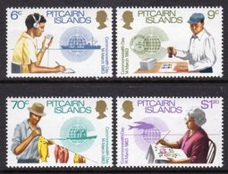 PITCAIRN ISLANDS - 1983 COMMONWEALTH DAY SET (4V) FINE MNH ** SG 234-237 - Stamps