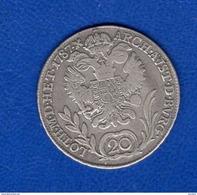 Autriche  20  Kreuser  1787  Arg - Austria