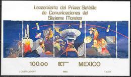 Messico/Mexico/Mexique: Satellite Comunicazioni, Satellite Communications, Communications Par Satellite - Telecom