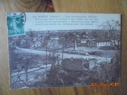 Albert. Vue Panoramique D'Albert : Monument Dont Le Bronze A Ete Enleve Par Les Allemands, Ecoles Provisoires. CCC&C 113 - Albert