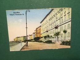 Cartolina Zara - +Riva Vittorio Emanuele III - 1930 Ca. - Cartoline