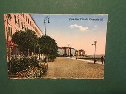 Cartolina Zara - +Riva Vittorio Emanuele III +- 1930 Ca. - Cartoline