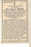 DI/O/ ° WIEZE 1852 + 1919  ELISA WAGON   Met Foto - Religion & Esotérisme