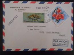 Burandi Lettre De Bujumbura 1975 Pour Deuil-la-barre - Burundi