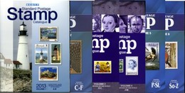 Scott Standard Postage Stamp Catalogue Volumes 1-6. Full Set, Various Years. - Stamp Catalogues