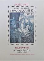 NOËL 1971 - NEUF ** - YT BL 25 - MI BL 28 - Rwanda