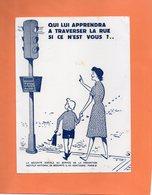 BUVARD. SECURITE SOCIALE.PREVENTION ROUTIERE.FEUX TRICOLORES.ENFANT  Achat Immédiat - Automotive